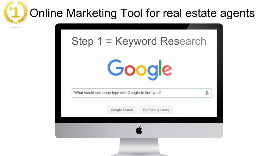 Google Leads Realtors Real Estate Keyword Research Software for marketing