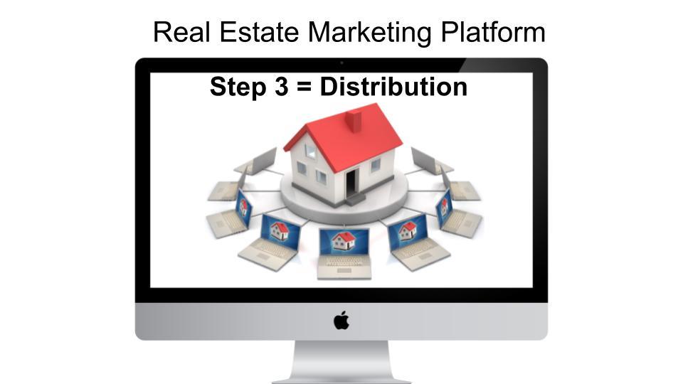 social media distribution video platform realtors marketers